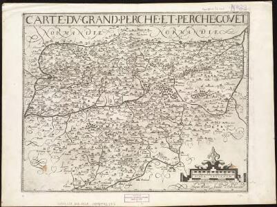 Carte du Grand Perche et Perche Gouet