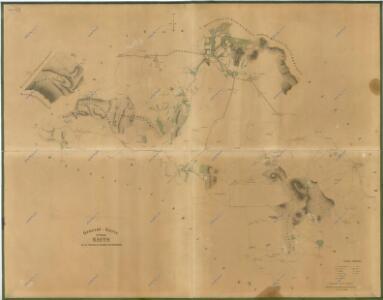 Přehledová mapa panství Kout