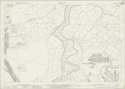 Kent III.14 (includes: Crayford; Dartford) - 25 Inch Map