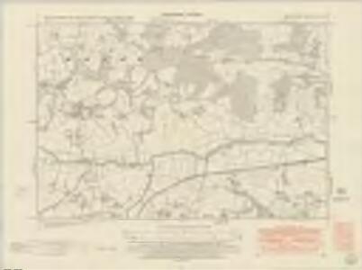 Sussex XLIV.SE - OS Six-Inch Map