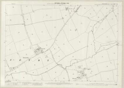 Lincolnshire LXII.4 (includes: Bullington; Fulnetby; Holton cum Beckering; Rand; Wickenby) - 25 Inch Map