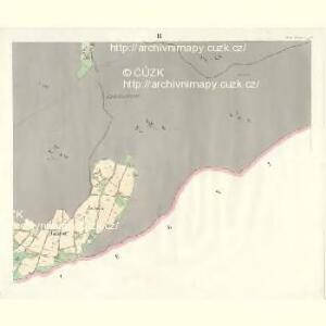 Gross Aurzim (Welky Auřim) - c8466-1-009 - Kaiserpflichtexemplar der Landkarten des stabilen Katasters
