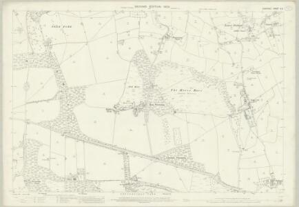 Somerset V.3 (includes: Portbury; Wraxall) - 25 Inch Map