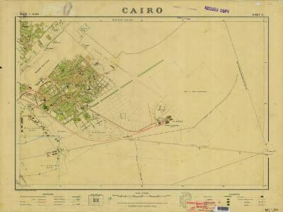 Cairo, 1:10.000 (Sheet 5)