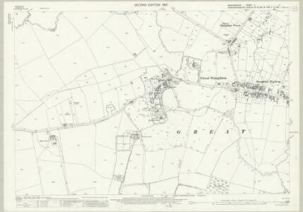 Bedfordshire V.11 (includes: Great Staughton; Pertenhall) - 25 Inch Map