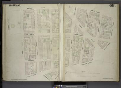 [Plate 68: Map bounded by Bleecker Street, Hudson Street, Gansevoort Street, West 13th Street, Greenwich Avenue, West 12th Street, Seventh Avenue, Perry Street, Charles Street.]