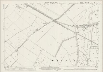 Norfolk XXXII.9 (includes: Central Wingland; Walpole St Andrew; Walpole St Peter) - 25 Inch Map