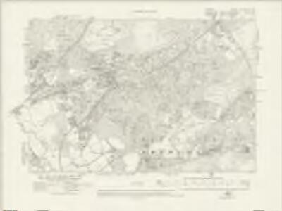Surrey XV.NW & XV.NE - OS Six-Inch Map