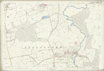Wiltshire XXXVIII.9 (includes: Norton St Philip; Southwick; Tellisford; Wingfield) - 25 Inch Map