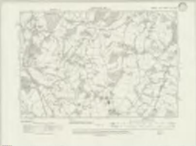 Sussex XLII.SW - OS Six-Inch Map