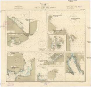 Nördliches Eismeer Häfen in der Barentsee