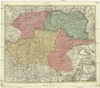 Archiducatus Austriae inferioris in omnes suas quadrantes ditiones divisi nova et exacta tabula