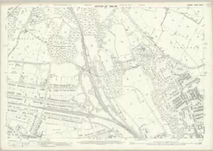 London (Edition of 1894-96) CXLVII (includes: Beckenham; Bromley; Lewisham) - 25 Inch Map