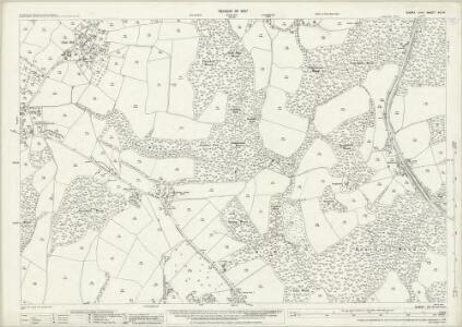 Sussex XIX.14 (includes: Ticehurst) - 25 Inch Map