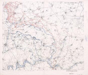 Map of the Somme area.