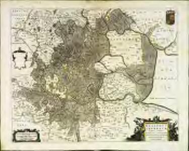 Regiones invndatæ in finibus comitatus Norfolciæ, Svffolciæ, Cantabrigiæ, Hvntingtoniæ Northamtoniæ, et Lincolniæ