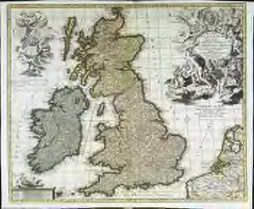 Magnæ Britanniæ tabula
