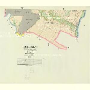 Ober Morau (Horny Morawa) - c2102-1-007 - Kaiserpflichtexemplar der Landkarten des stabilen Katasters