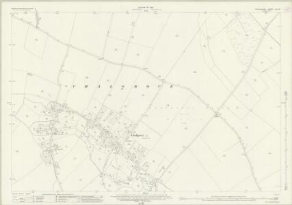 Oxfordshire XLVI.8 (includes: Chalgrove) - 25 Inch Map