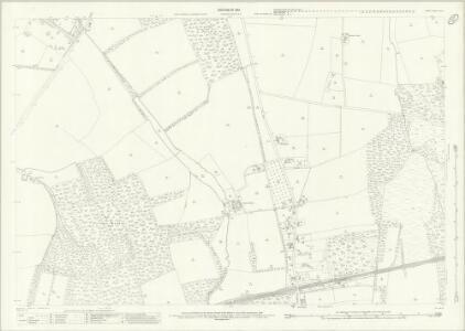 Surrey XXIV.6 (includes: Send; West Clandon) - 25 Inch Map