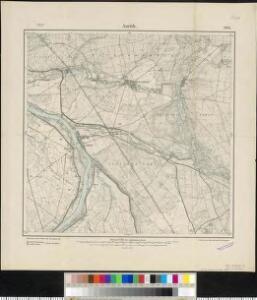 Meßtischblatt 2051 : Aurith, 1907