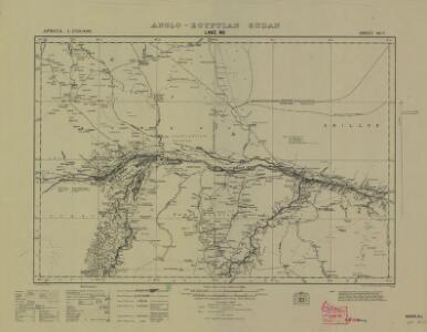 Sudan [Anglo-Egyptian] 1:250,000, Lake No