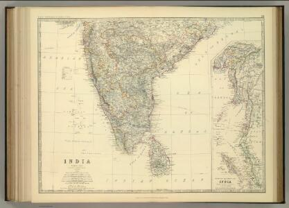 India (southern sheet).
