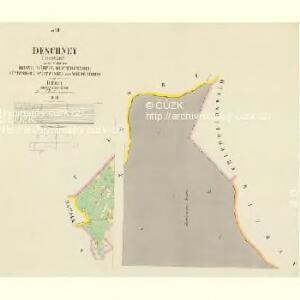 Deschney (Dessney) - c1092-1-008 - Kaiserpflichtexemplar der Landkarten des stabilen Katasters