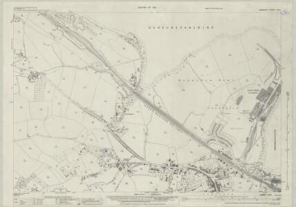 Somerset VII.9 (includes: Bitton; Bristol; Compton Dando; Hanham Abbots; Keynsham) - 25 Inch Map