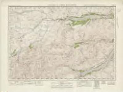 Killin  & Loch Rannoch (55) - OS One-Inch map