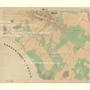 Brunn - c7515-1-003 - Kaiserpflichtexemplar der Landkarten des stabilen Katasters
