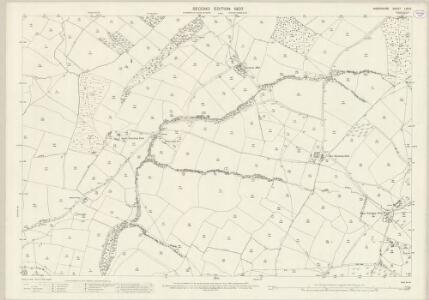 Shropshire LXV.6 (includes: Abdon; Ditton Priors; Holdgate; Tugford) - 25 Inch Map