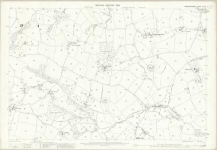 Monmouthshire XIII.15 (includes: Llanarth Fawr; Raglan United) - 25 Inch Map