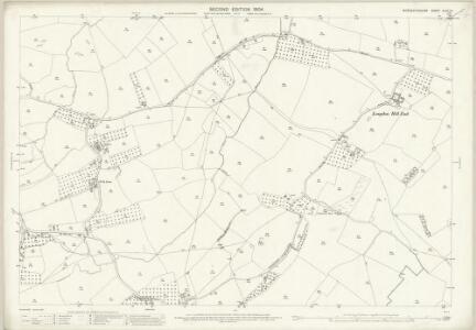 Worcestershire XLVII.14 (includes: Castlemorton; Longdon; Upton upon Severn; Welland) - 25 Inch Map