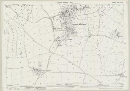 Somerset LXXXI.15 (includes: Barrington; Seavington St Mary; Seavington St Michael; Shepton Beauchamp; South Petherton; Stocklinch; Whitelackington) - 25 Inch Map