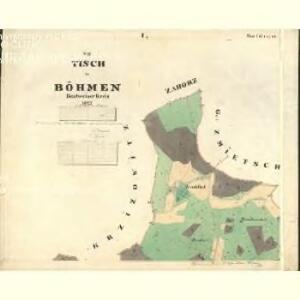 Tisch - c3678-1-005 - Kaiserpflichtexemplar der Landkarten des stabilen Katasters