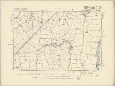 Lincolnshire CXIX.NE - OS Six-Inch Map