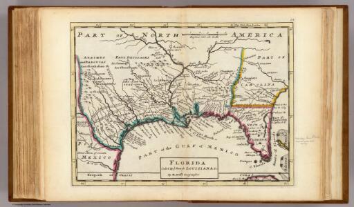Florida called by ye French Louisiana &c.