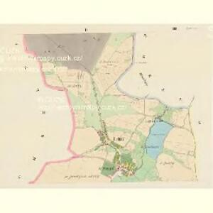 Lettin (Letin) - c3891-1-002 - Kaiserpflichtexemplar der Landkarten des stabilen Katasters