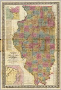 New sectional map of the state of Illinois.