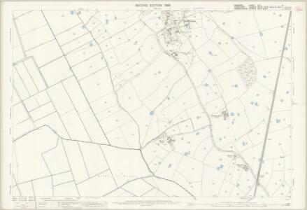Cheshire XLVI.9 (includes: Burton; Dodleston; Higher Kinnerton; Hope; Lower Kinnerton; Pulford) - 25 Inch Map