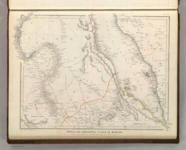 Nubia and Abyssinia to Bab El Mandeb.
