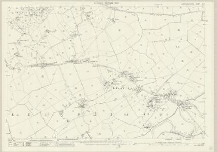 Montgomeryshire XI.14 (includes: Llandrinio; Llandysilio) - 25 Inch Map