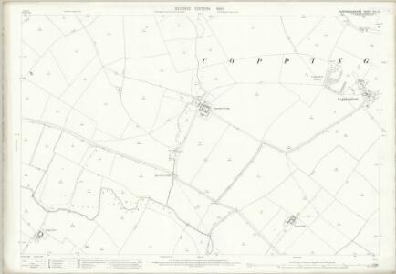 Huntingdonshire XIII.10 (includes: Buckworth; Hamerton; Sawtry; Steeple Gidding; Upton and Coppingford) - 25 Inch Map