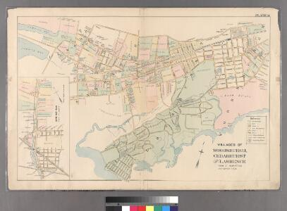 Plate 14: Villages of Woodsburgh, Cedarhurst and Lawrence, Town of Hempstead.