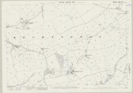 Somerset XXX.8 (includes: Beckington; Berkley; Dilton Marsh) - 25 Inch Map