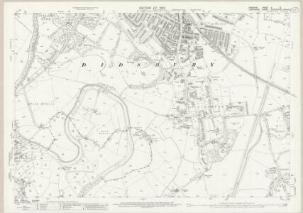 Cheshire X.13 (includes: Cheadle and Gatley; Manchester) - 25 Inch Map