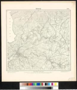 Meßtischblatt 3206 : Malmedy, 1895