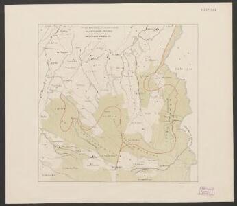 Plan des forêts communales de Bulle, Vuadens & Vaulruz