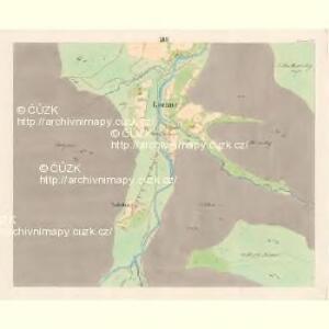 Lomna (Lomno) - m0508-1-012 - Kaiserpflichtexemplar der Landkarten des stabilen Katasters